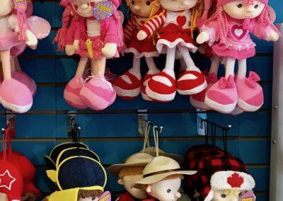 Kickin Kids plush dolls