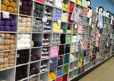 THE YARN WALL!