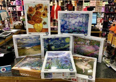 Famous ART Puzzles