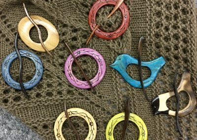 Handcrafted Shawl Pins